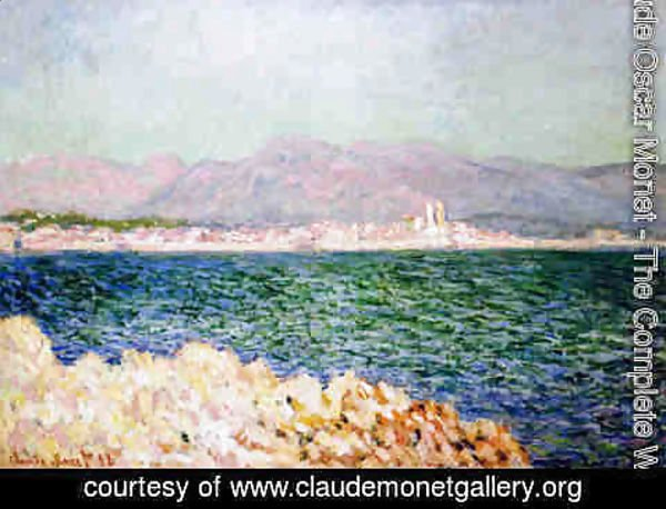 Claude Oscar Monet - The Gulf Of Antibes