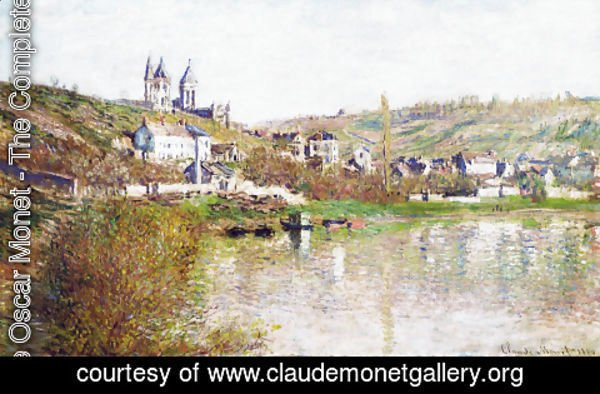 Claude Oscar Monet - The Hills Of Vetheuil