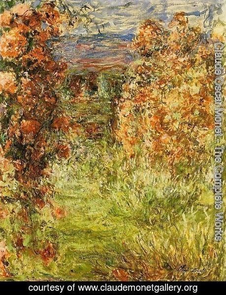Claude Oscar Monet - The House Among The Roses