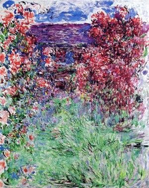Claude Oscar Monet - The House Among The Roses2