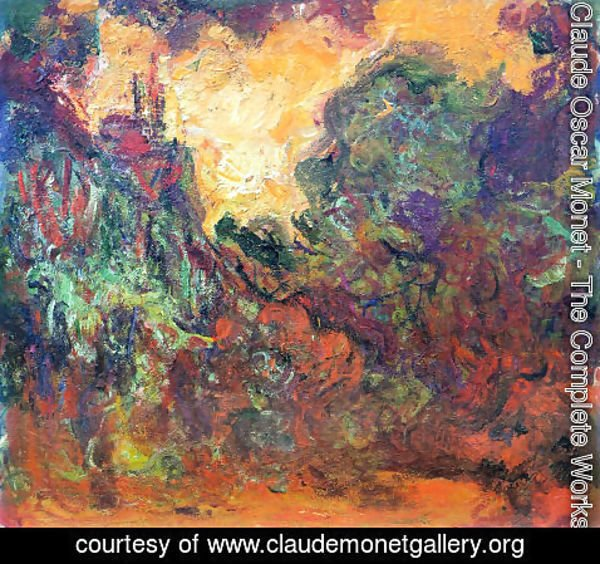 Claude Oscar Monet - The House Seen From The Rose Garden