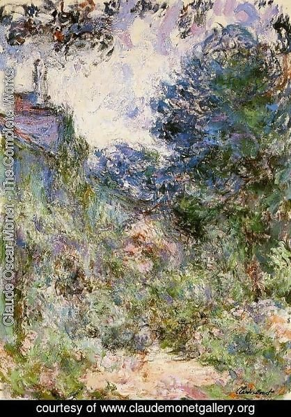 Claude Oscar Monet - The House Seen From The Rose Garden3