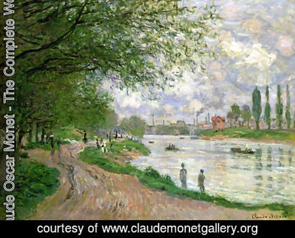 Claude Oscar Monet - The Isle La Grande Jatte