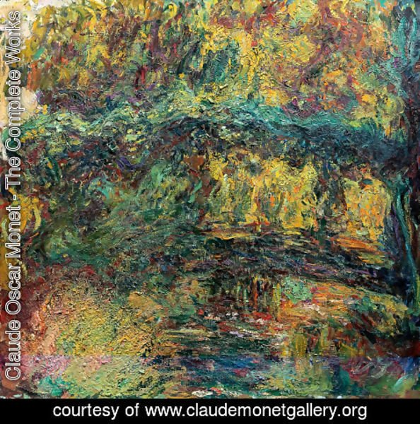 Claude Oscar Monet - The Japanese Bridge6