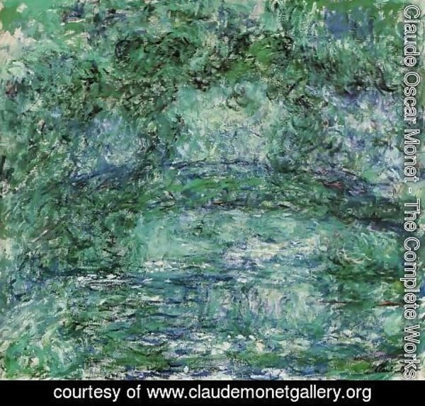Claude Oscar Monet - The Japanese Bridge8