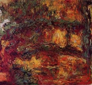 Claude Oscar Monet - The Japanese Bridge At Giverny