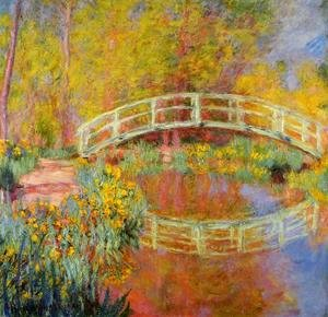 Claude Oscar Monet - The Japanese Bridge At Giverny2