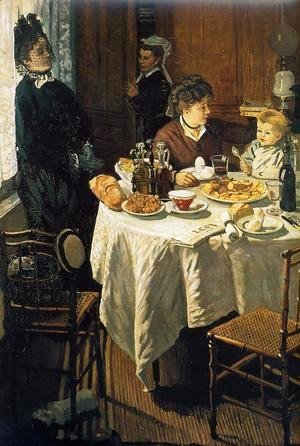Claude Oscar Monet - The Luncheon2