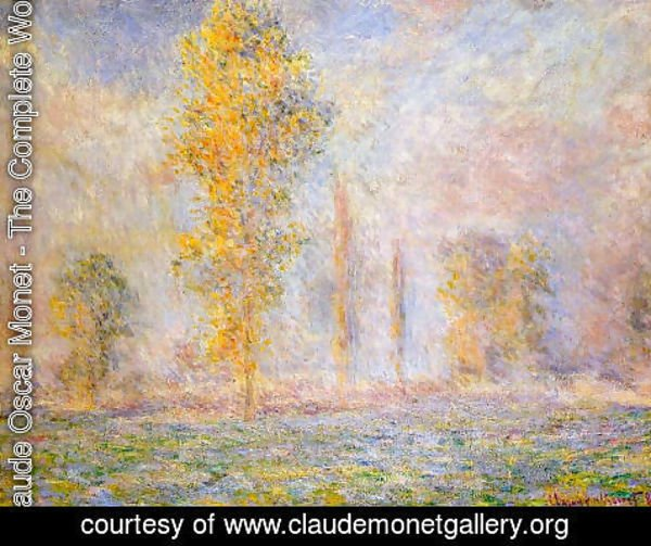 Claude Oscar Monet - The Meadow At Giverny