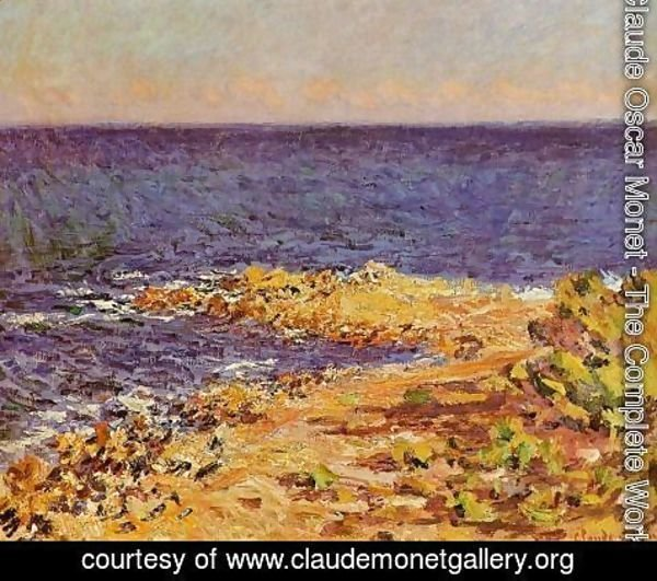 Claude Oscar Monet - The Meditarranean At Antibes