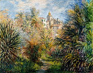 Claude Oscar Monet - The Moreno Garden At Bordighera2