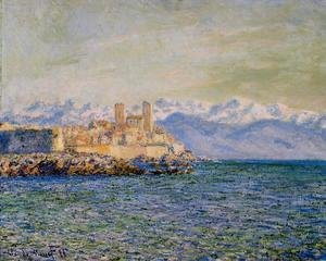 Claude Oscar Monet - The Old Fort At Antibes Aka The Fort Of Antibes