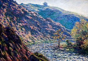 Claude Oscar Monet - The Old Tree At The Confluence