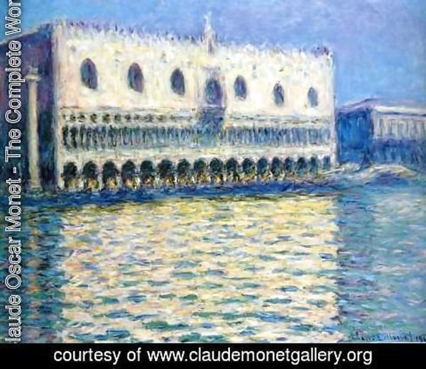 Claude Oscar Monet - The Palazzo Ducale2