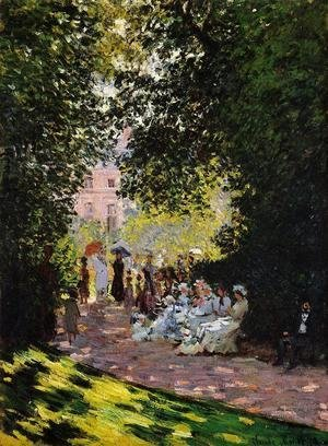 Claude Oscar Monet - The Parc Monceau