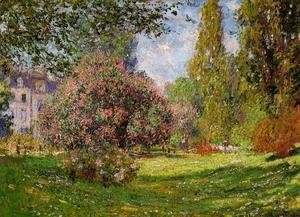Claude Oscar Monet - The Parc Monceau  Paris