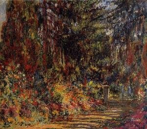 Claude Oscar Monet - The Path At Giverny