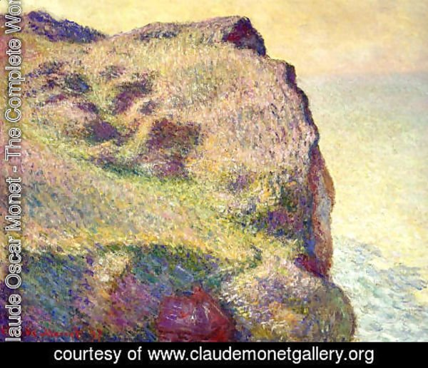 Claude Oscar Monet - The Pointe Du Petit Ailly