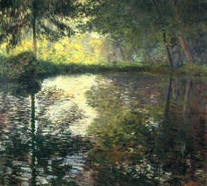 Claude Oscar Monet - The Pond At Montgeron