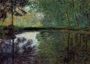 Claude Oscar Monet - The Pond At Montgeron2
