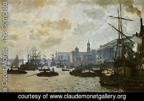 Claude Oscar Monet - The Port Of London
