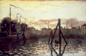 Claude Oscar Monet - The Port Of Zaandam