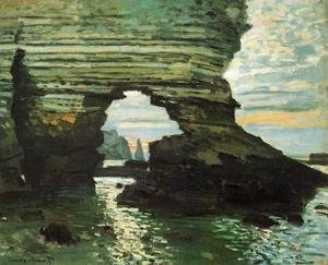 Claude Oscar Monet - The Porte D Amont  Etretat