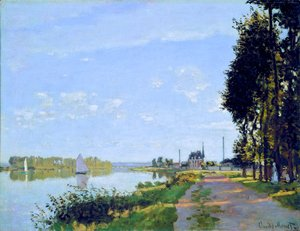 Claude Oscar Monet - The Promenade At Argenteuil2