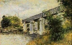 Claude Oscar Monet - The Railway Bridge At Argenteuil2