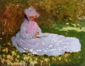 Claude Oscar Monet - The Reader