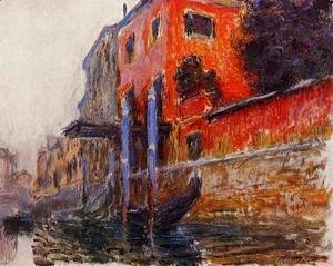 Claude Oscar Monet - The Red House