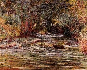 Claude Oscar Monet - The River Epte At Giverny