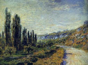 Claude Oscar Monet - The Road From Vetheuil
