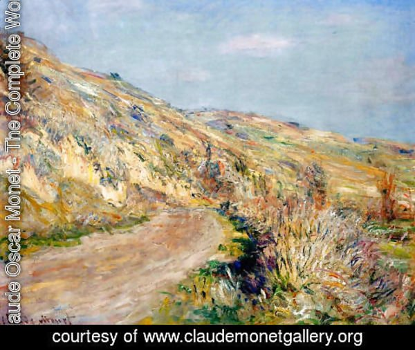 Claude Oscar Monet - The Road To Giverny2