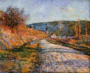 Claude Oscar Monet - The Road To Vetheuil