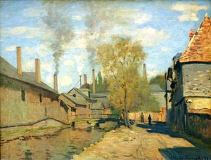 The Robec Stream  Rouen Aka Factories At Deville  Near Rouen