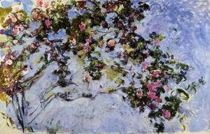 Claude Oscar Monet - The Rose Bush