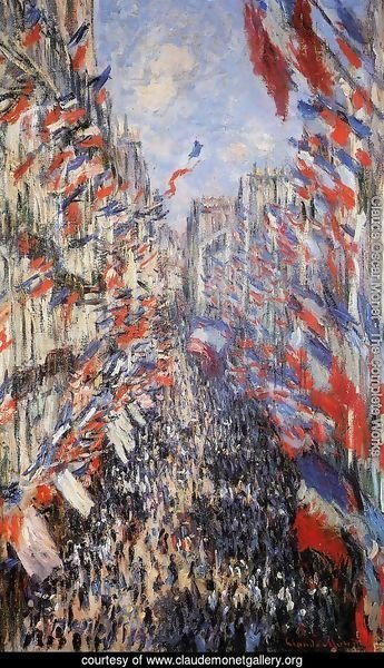 The Rue Montorgeuil 30th Of June 1878