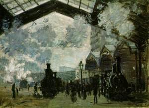 Claude Oscar Monet - The Saint Lazare Station