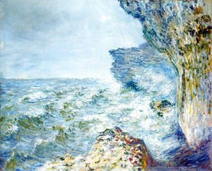 Claude Oscar Monet - The Sea At Fecamp