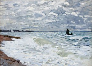 The Sea At Saint Adresse
