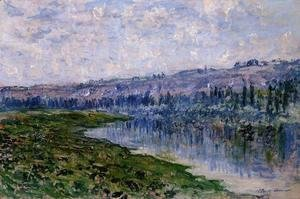 Claude Oscar Monet - The Seine And The Chaantemesle Hills