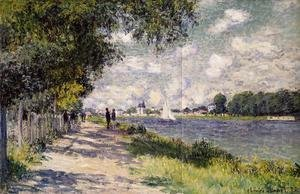 The Seine At Argenteuil 2