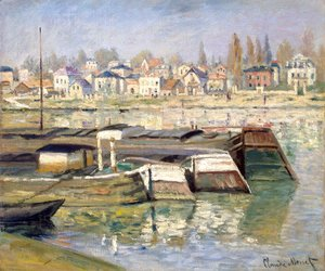 Claude Oscar Monet - The Seine At Asnieres
