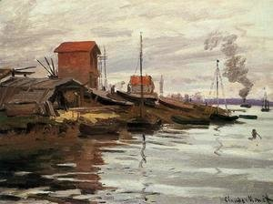 Claude Oscar Monet - The Seine At Le Petit Gennevilliers