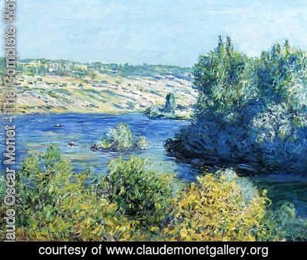 Claude Oscar Monet - The Seine At Vetheuil2