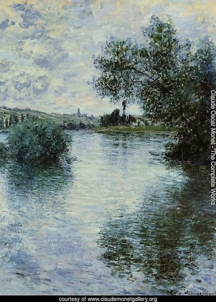 The Seine At Vetheuil3