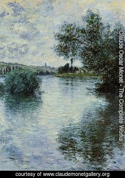 Claude Oscar Monet - The Seine At Vetheuil3