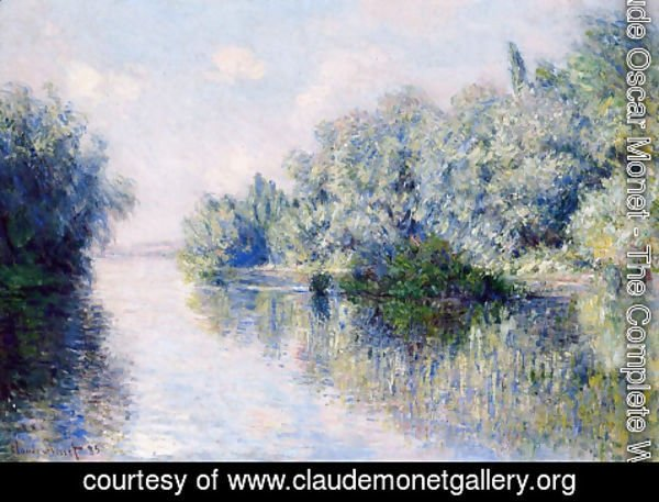 Claude Oscar Monet - The Seine Near Giverny