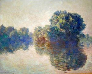 Claude Oscar Monet - The Seine Near Giverny2
